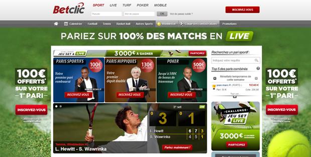 paris sportifs bookmaker betclic