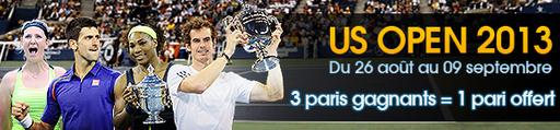 netbet bonus US Open pari tennis