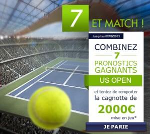 parionsweb pari tennis us open