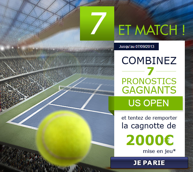 parionsweb pari tennis us open