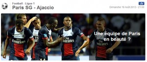 pronostic psg ajaccio composition