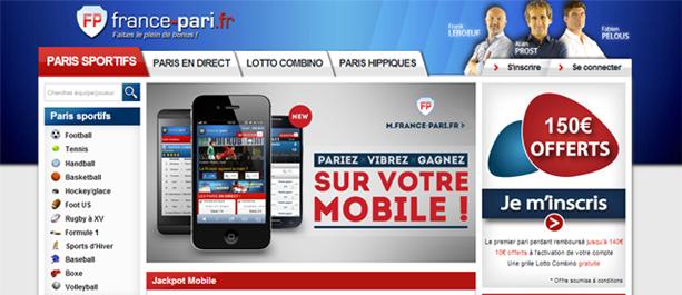 pari mobile france pari
