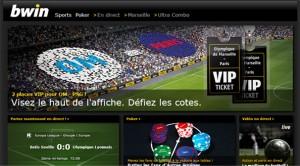 bwin OM PSG paris en ligne