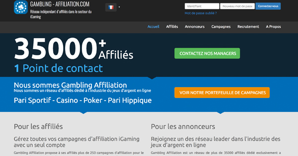 Affiliation paris en ligne