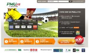 bonus pmu 200€ paris sportifs