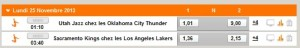 streaming NBA chez PMU