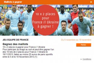 PMU 20 places France Ukraine