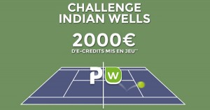 ParionsWeb : Indian Wells, parier tennis