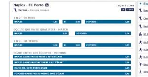 Pronostic Napoli FC Porto 20 mars 2014