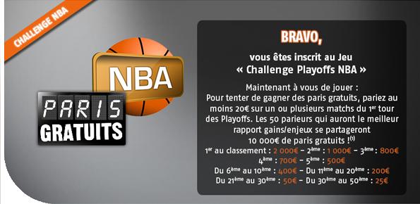 Concours NBA PMU