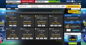 Paris en direct chez Netbet