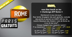Challenge PMU : Streaming HD Rome