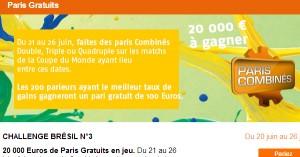 Challenge N°3 PMU : Coupe du Monde