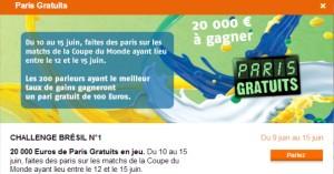 PMU : Concours Coupe du Monde 2014