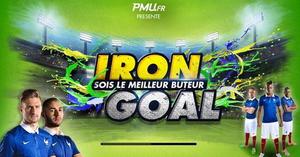 Iron Goal PMU : Concours mobile