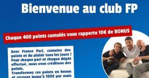 France Pari, Club FP