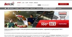 Betclic : Bonus pour les combinés football
