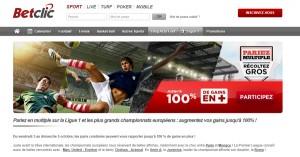 BetClic : Bonus sur le football