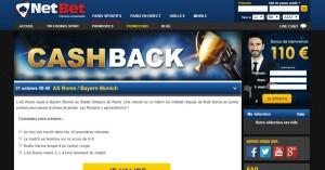 Netbet Cashback