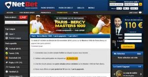 Netbet Sport, Open de Bercy