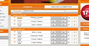 PMU : ATP Tennis à Pékin