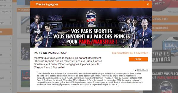 PSG Parieur Cup
