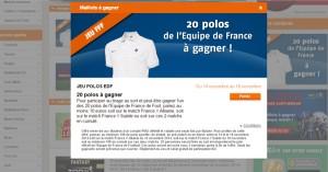 Maillot EDF chez PMU