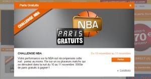 PMU : Concours sur la NBA
