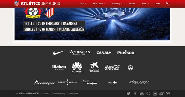 L'Atletico Madrid est plébiscité par Plus500