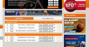 Streaming NBA gratuit chez PMU !