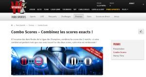 Paris sportifs sur Winamax