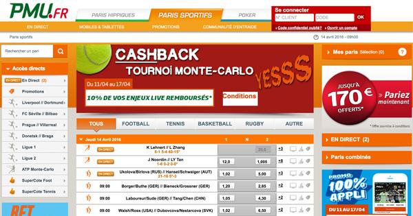 PMU rembourse les mises sur Monte Carlo