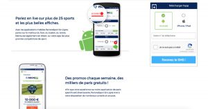 Application mobile parions sport android