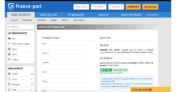Contact-France-Pari