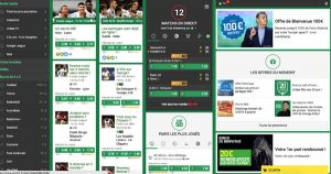 Interface Unibet
