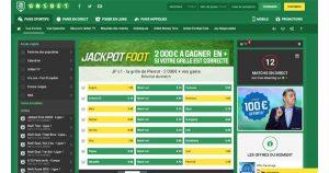 Jackpot Foot Unibet