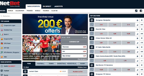 Interface NetBet