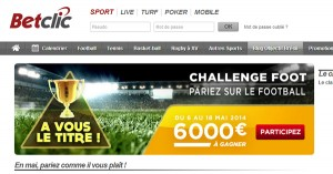 Mai : BetClic Challenge football