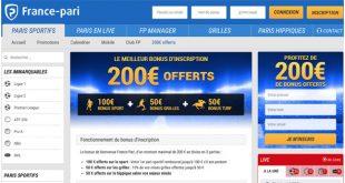 France Pari Bonus